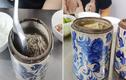 """Người chơi hệ """"hoạ tiết bát hương"""" khiến netizen nhìn mà e ngại"""