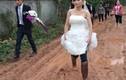 Khi thời tiết không ủng hộ cô dâu chú rể