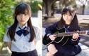 Nữ sinh Nhật 15 tuổi mặc đồng phục đẹp tinh khôi