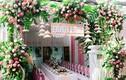 Đám cưới được trang hoàng bằng 2000 bông hoa sen gây sốt mạng