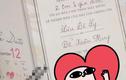 Lộ thiệp cưới của Lưu Đê Ly và chồng, dân mạng chê trông quá nhàm