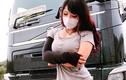 """""""Hot girl ngực khủng"""" lái xe tải Nhật Bản khiến anh em phát cuồng"""