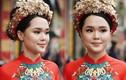 Nhan sắc lạ Quỳnh Anh ngày ăn hỏi, dân mạng truy tìm bạn make up
