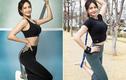 Nhờ giảm cân gái xinh Hàn Quốc khoe vòng eo siêu thực với cơ bụng cuộn múi