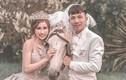 Hóa thành hoàng tử, công chúa, vợ chồng Minh Nhựa lại làm lố trên mạng
