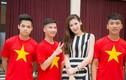 Dương Tú Anh cổ vũ đoàn thể thao VN dự SEA Games