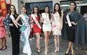 Người đẹp Miss World khoe sắc tại lễ hội ở Hải Nam