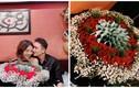 Cận cảnh bó hoa toàn tờ 500 nghìn Phan Mạnh Quỳnh tặng bạn gái