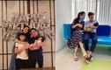 Đời thường bình dị của Cường Đô la - Đàm Thu Trang bên hai con