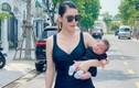 Quế Vân khoe dáng nuột sau 1 tháng sinh con trai thứ ba