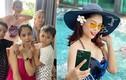 Nhan sắc Á hậu Thùy Giang có gia đình 7 người mắc COVID-19