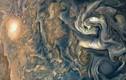 Ngắm diện mạo ma quái của mây trên sao Mộc