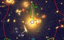 Phát hiện cụm thiên hà khổng lồ gây sốc SDSS J1050 + 0017