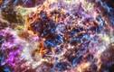 Kỳ thú siêu tân tinh có hệ thống sóng xung kích đảo cực