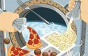 """Phi hành gia bị """"cấm"""" ăn gì khi ở trong không gian?"""