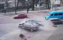 Đâm xe tốc độ cao, 2 người đàn ông bay ra khỏi ôtô