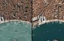 Cảnh vắng vẻ trên toàn cầu vì Covid-19 chụp từ vệ tinh