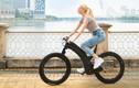 """Kỳ lạ xe đạp điện không nan hoa, trục vòm bánh """"tàng hình"""" bảo mật khủng"""