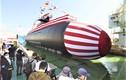 """Cận cảnh tàu ngầm """"Cá Voi lớn"""" chạy bằng pin lithium của Nhật Bản"""