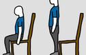 Bài tập tại chỗ ngồi giảm đau nhức toàn thân