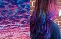 Mốt nhuộm tóc màu hoàng hôn đẹp huyền ảo lên ngôi