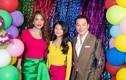 Diện đồ colorblock, con gái tình cũ Kim Lý ra dáng tiểu mỹ nhân