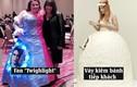 Phát hoảng chiếc váy cưới có 1-0-2, chú rể khóc không ra tiếng