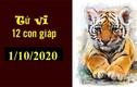 Dự báo ngày mới 01/10/2020 cho 12 con giáp: Tý thắng lớn, Mùi phòng tiểu nhân