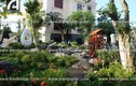 Sân vườn tuyệt đẹp lâu đài sinh đôi của đại gia Ninh Bình
