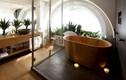 Mẫu phòng tắm sàn gỗ đẹp sang chảnh, ai nhìn cũng mê