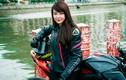 """Ngắm nữ biker Việt """"thuần phục quái vật"""" Kawasaki Z800"""