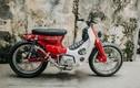 """Xe máy Honda Super Cub cũ độ """"siêu chất"""" tại Hà Nội"""