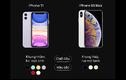 iPhone 11 đọ thông số với iPhone XS Max