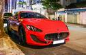 Chi tiết Maserati GranTurismo Sport màu đỏ hàng hiếm ở Việt Nam