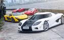 Bộ tứ siêu xe hypercar triệu đô của đại gia Indonesia