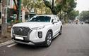 Xe Hyundai Palisade tiền tỷ lăn bánh trên phố Hà Nội