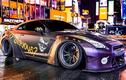 Nissan GT-R R35 Liberty Walk phong cách Joker trên phố Mỹ