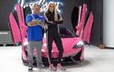 """Siêu xe McLaren 570S Spider """"toàn màu hồng"""" của Jeffree Star"""