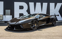 Ngắm siêu phẩm Lamborghini Aventador Liberty Walk màu nâu độc đáo