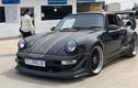 "Porsche 930 Turbo của dân chơi Việt tại Campuchia ra biển ""COVI.19"""