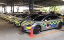 Phát sốt với dàn xe cảnh sát Tesla Model triệu đô tại Thái Lan