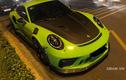 """""""Mát mắt"""" với Porsche 911 GT3 RS Lizard Green trên phố Sài Gòn"""