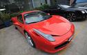 """""""Hàng hiếm"""" Ferrari 458 Italia đỏ rực trên phố Sài Gòn"""