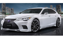 """""""Xế sang"""" Lexus LS F Sport đầy mạnh mẽ với gói nâng cấp mới"""