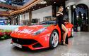 """""""Siêu ngựa"""" Ferrari F12 Berlinetta hơn 20 tỷ đỏ rực tại Sài Gòn"""