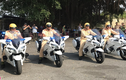 Siêu môtô Yamaha 1300 ở An Giang chỉ dùng để dẫn đoàn