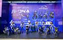 Dân chơi xe máy Honda phấn khích lái thử Yamaha Exciter 155 VVA mới