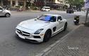 Ngắm siêu phẩm Mercedes-AMG SLS hàng hiếm lăn bánh ở Sài Gòn
