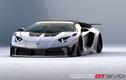 Lamborghini Aventador siêu hầm hố với gói độ Liberty Walk