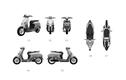 Hé lộ hình ảnh mẫu xe máy điện hoàn toàn mới của VinFast